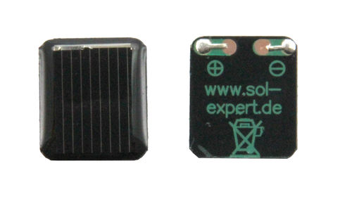 Cellule solaire 0,50 V - 50 mA