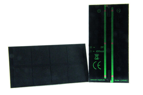 Cellule solaire 2,00 V - 450 mA