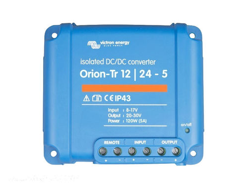 Orion-TR 12/24 Volts 5A (120W)
