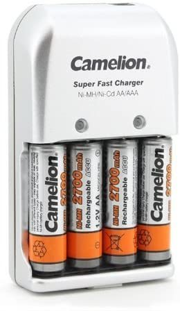 Chargeur intelligent BC-0903 + 4 accus AA 2700mAh